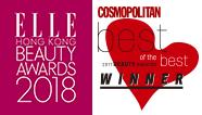 ELLE HONG KONG BEAUTY AWARDS 2-18, COSMOPLITAN BEST OF THE BEST WINNER