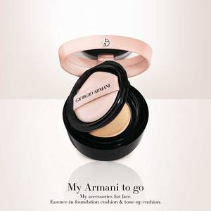 My Armani To Go Essence-In-Foundation Tone-up Cushion 雪紡水光氣墊精華粉底 SPF15