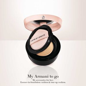 My Armani To Go Essence-In-Foundation Tone-up Cushion 雪紡水光氣墊精華粉底